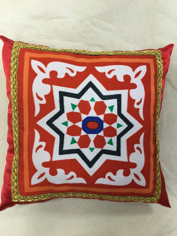 Red Ramadan theme Pillow