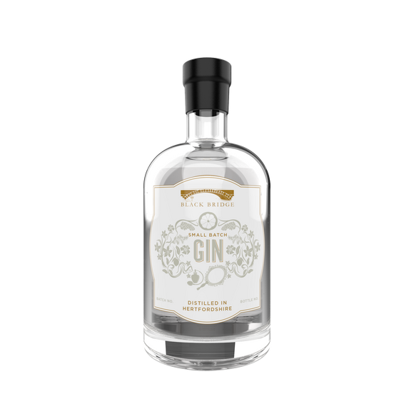 small batch citrus forward gin black bridge distillery hertfordshire