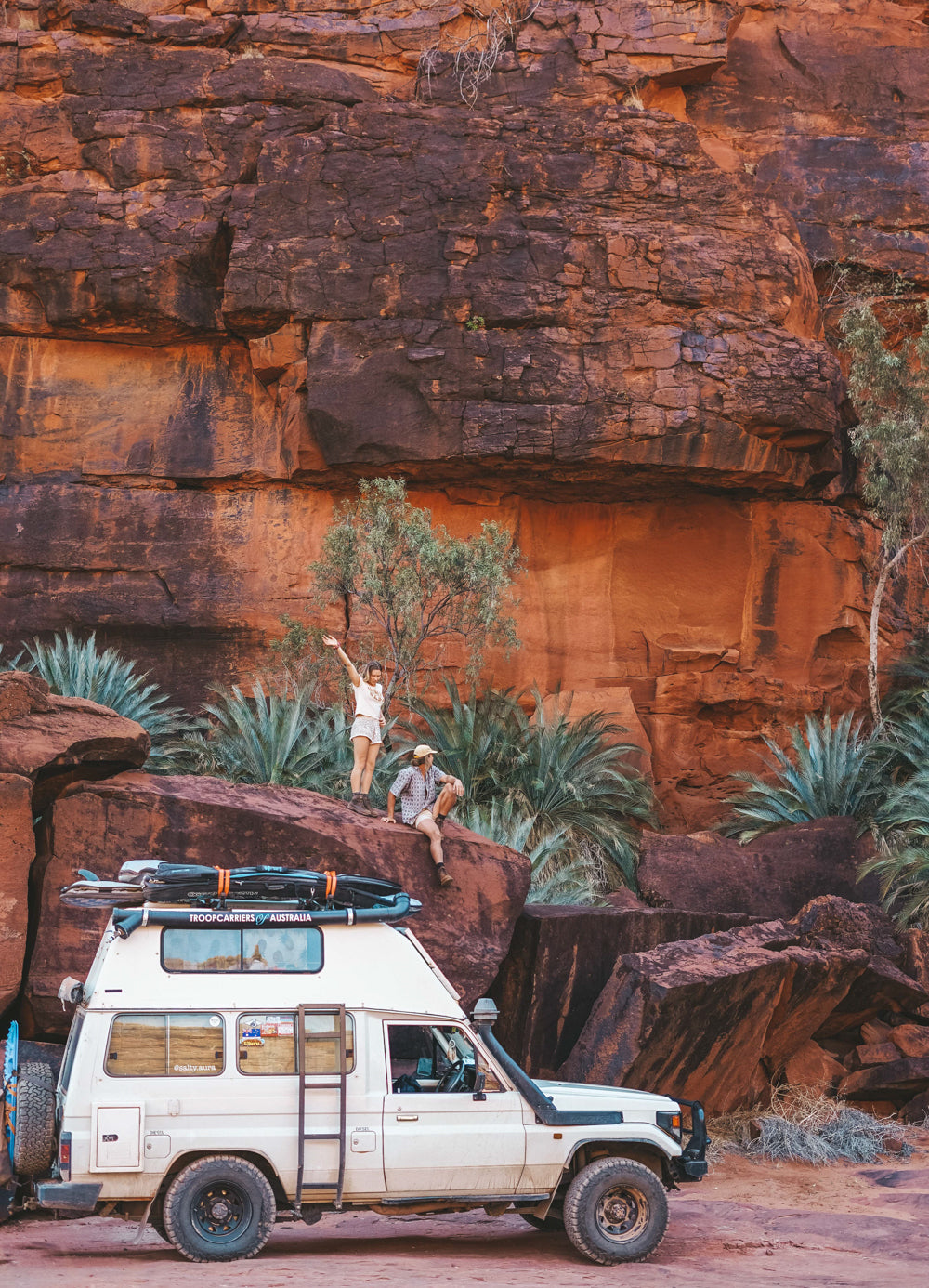 palm valley, landcruiser, troop carrier, troopy fitout, camper