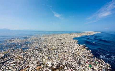 plastic island, plastic in our oceans, great pacific garbage patch