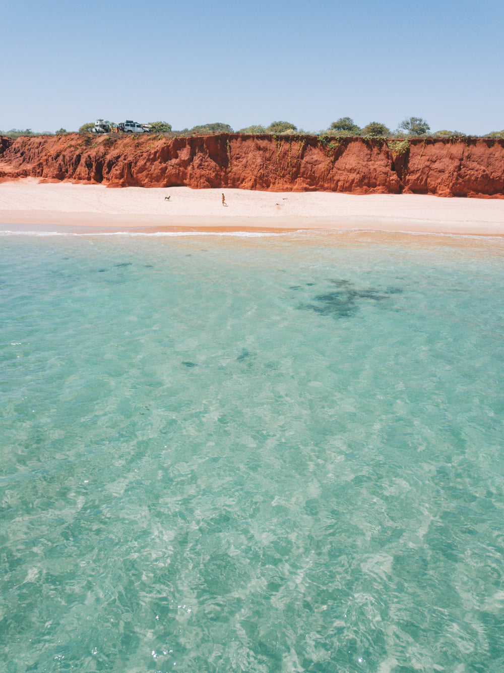 James price point, broome, camping