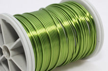 Light Green Wire 18,20,22 and 28 Gauge  Craft Wire, Wire Wrapping, Jewelry wire, 16/28/60/155 Feet Artisan Wires, WRRI