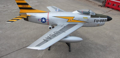 "Pilot RC F86D 2.2m (85"") Turbine Ready PNP"