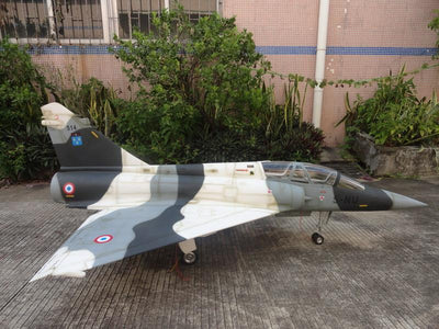 FeiBao Mirage 2000 with Slat Wingspan:64 1/4(1635mm)
