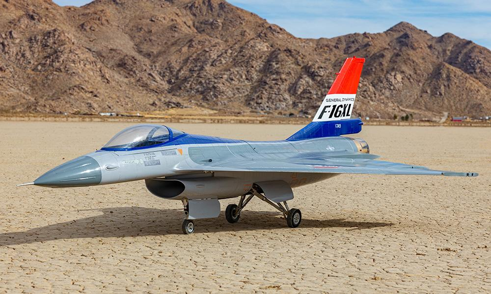 Global Knight Models 1/6 F-16 XL Turbine Jet