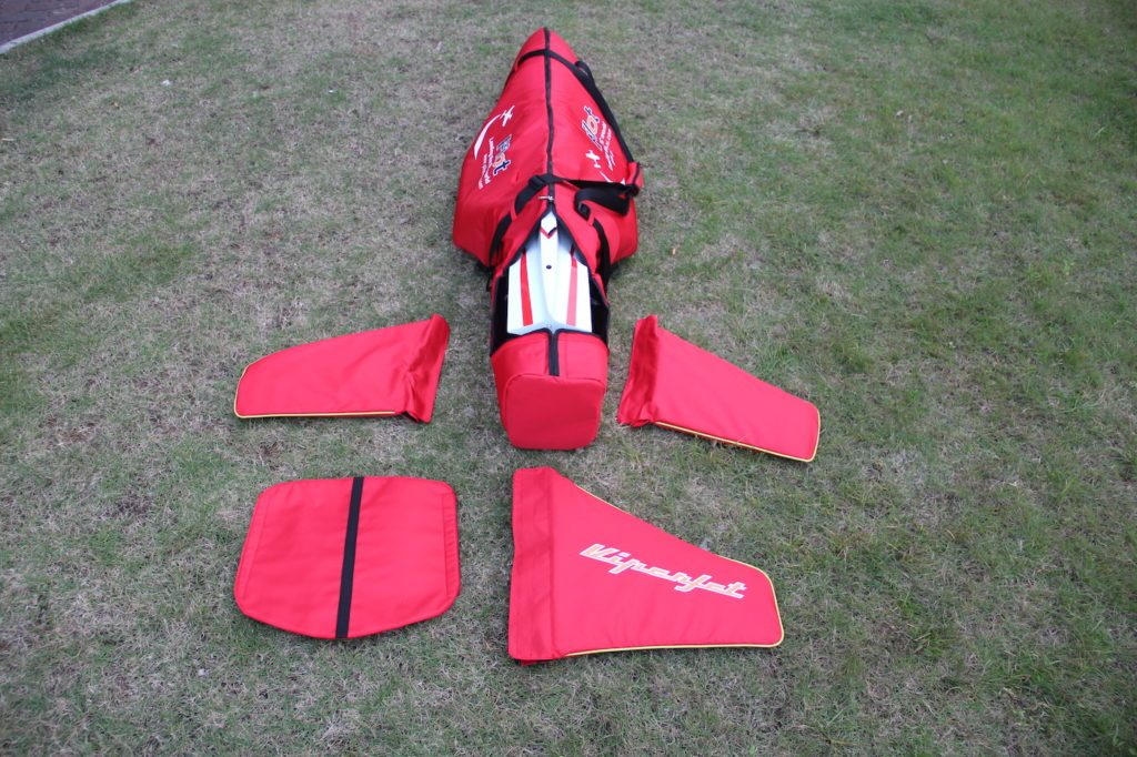 Fuselage bag for Viperjet , Hummingbird in different sizes