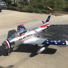 Global Cobra Jet F-86F 2.3M (1/5 Scale) Turbine Jet