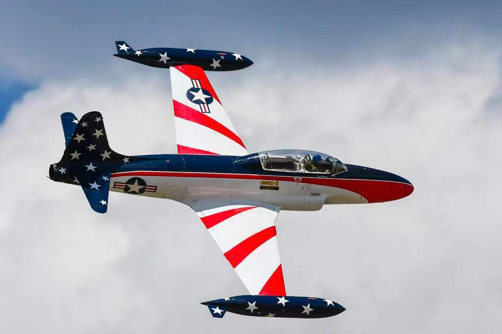 GLOBAL AEROJET T-33 Miss America Turbine Ready w/ Lights and Cockpit installed