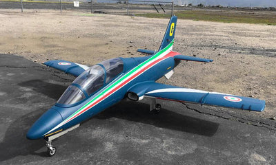 Global Aerofoam Tri-Color MB-339 (Turbine Ready) Turbine Jet PNP