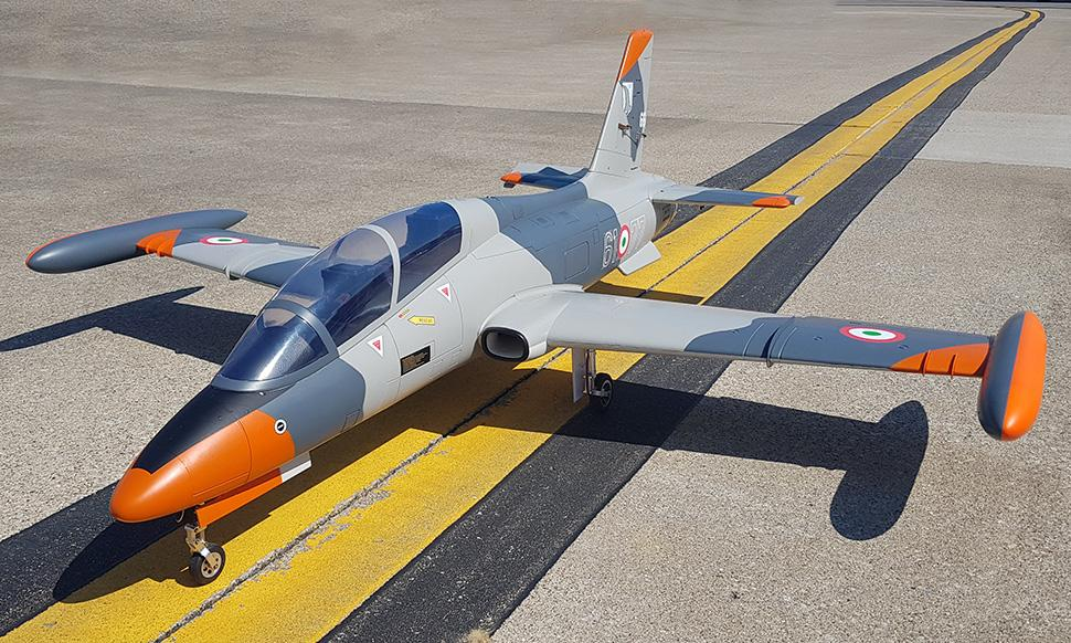 *In Stock* Global Aerofoam Italian Air Force MB-339 (Turbine Ready) Turbine Jet PNP