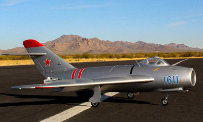 Global Aerofoam Military MiG-17 (Turbine Ready) Jet PNP