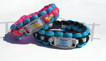 Customizable Child or Adult Sized Paracord Bracelet / Anklet - Infants-&-Insulin-