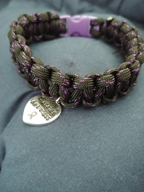 Customizable Adult or Child Sized Paracord Bracelet or Anklet - Infants-&-Insulin-