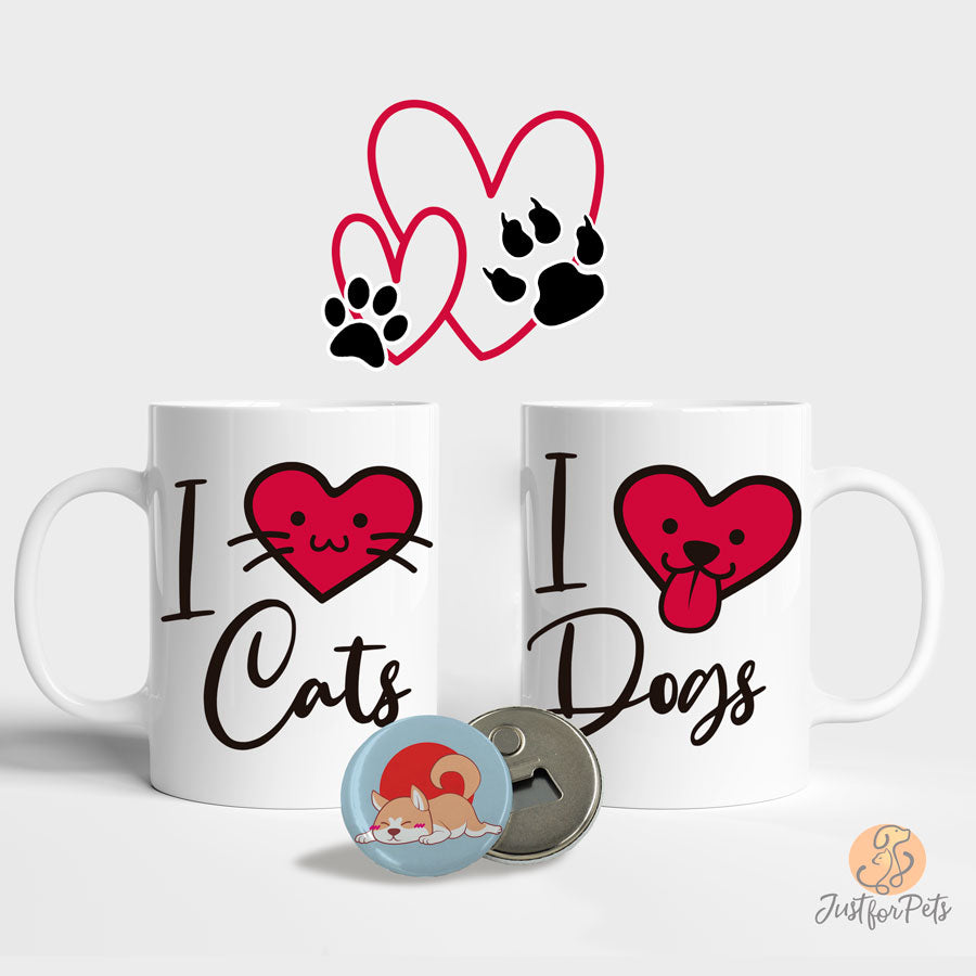 Pack San Valentín I ❤️🐱 🐶 - Just For Pets