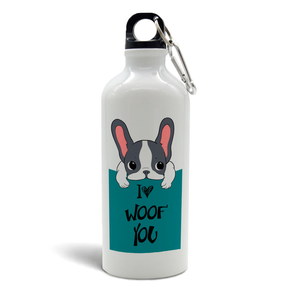 Botella de agua 500cc - I Woof You - Just For Pets