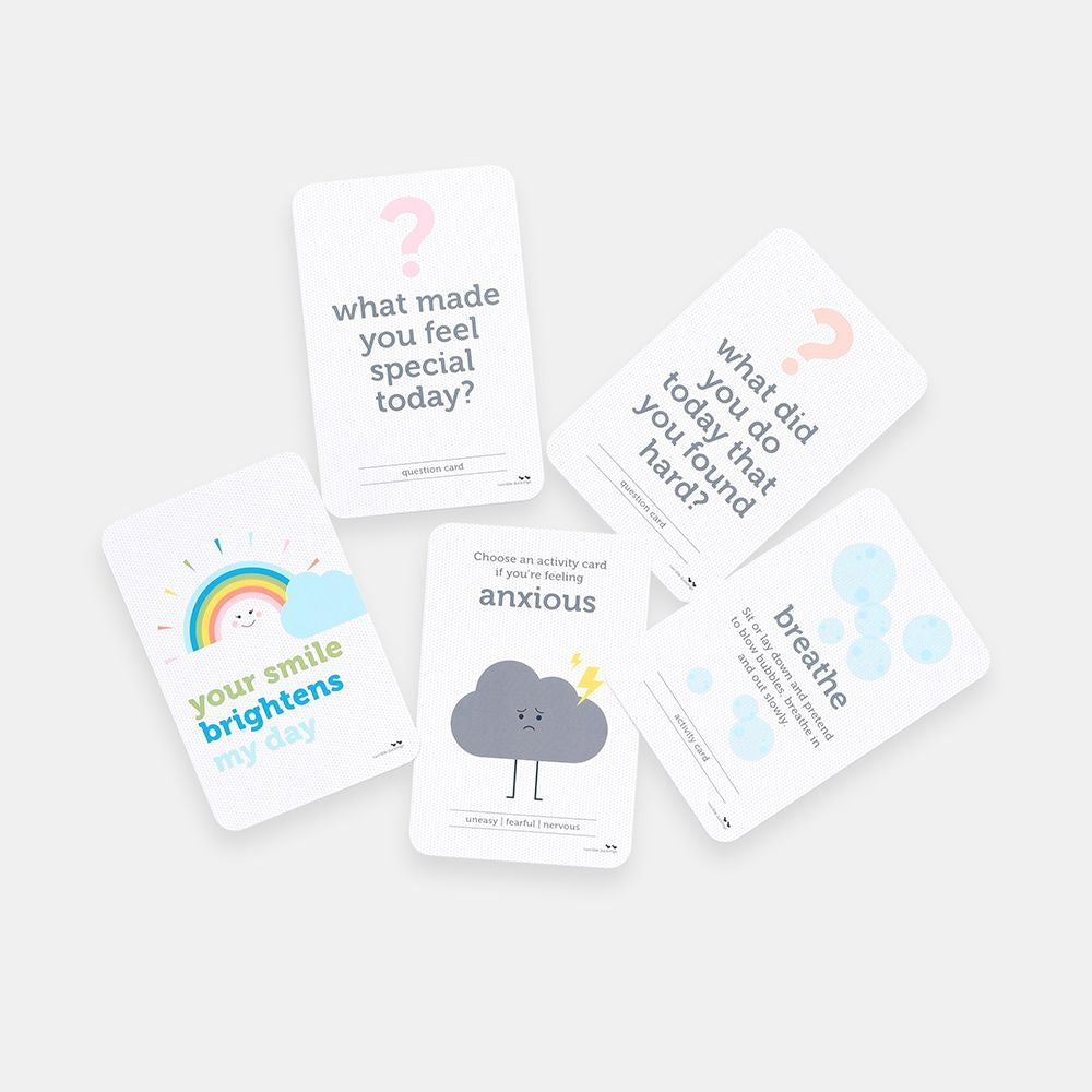 Kids' Wellbeing & Affirmation Flash Cards