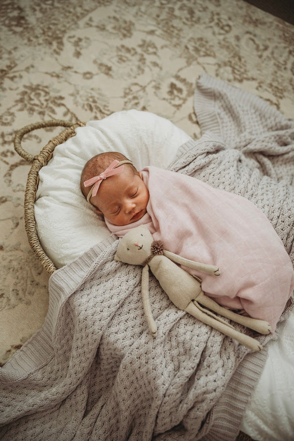 Organic Cotton Muslin Wrap | Fairytale