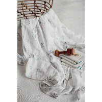 Organic Cotton Muslin Wrap | Wild Fern