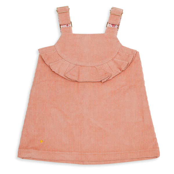 Harper Corduroy Dress Rose