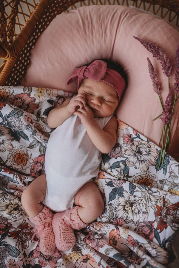 Organic Cotton Muslin Wrap | Australiana