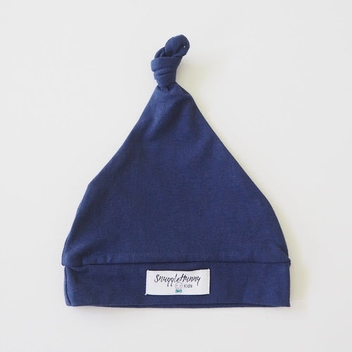 Knotted Beanie | Navy