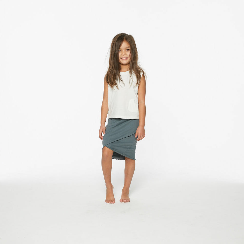 Twist Skirt | Khaki