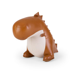 Zuny Dinosaur Bookend Tan