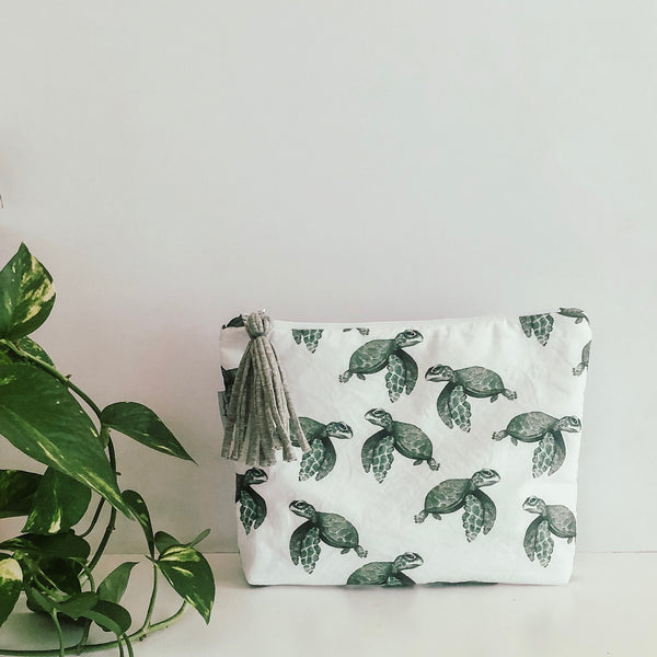 Turtles Print Nappy Clutch
