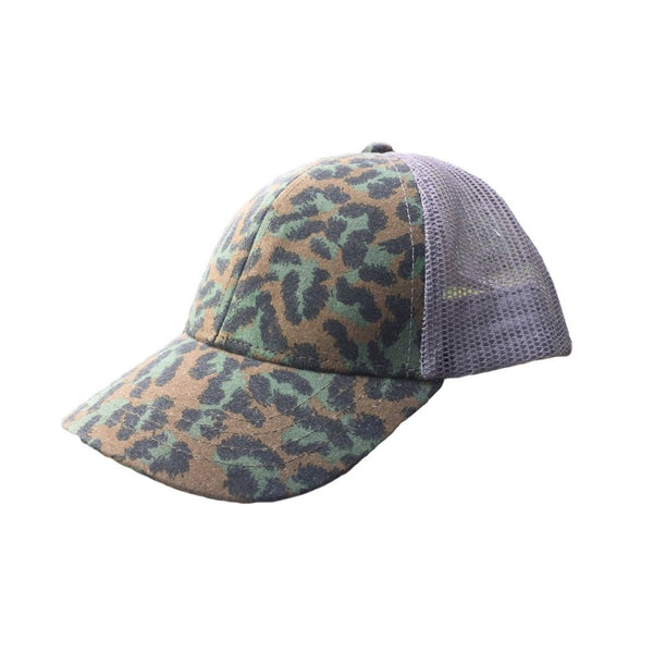 ArchNOllie Dirty Leopard Trucker Hat