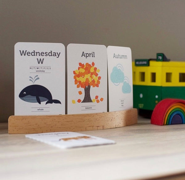 Day, Month & Season Flash Cards