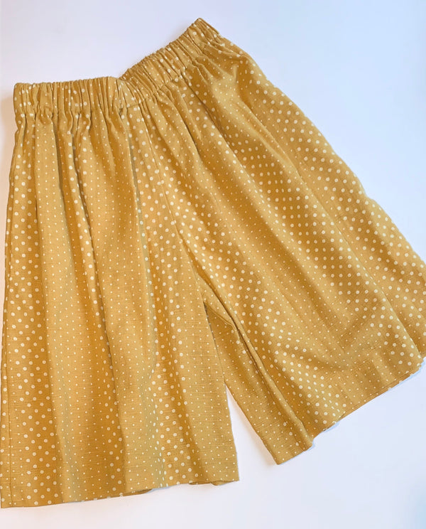 Holly Culottes Mustard