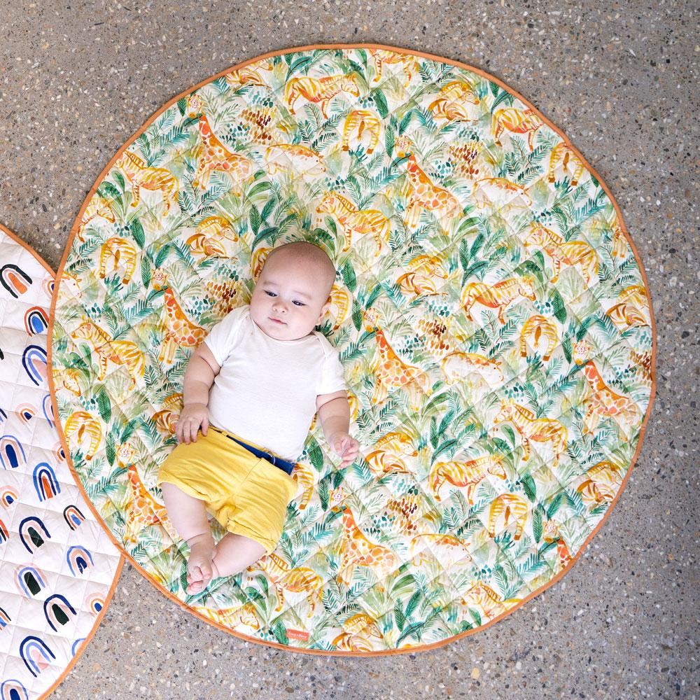 Jungle Safari Baby Play Mat