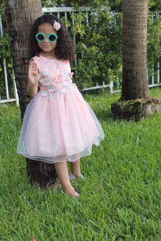 Isabella butterfly dress