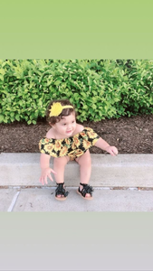 Belikethesunflower romper set