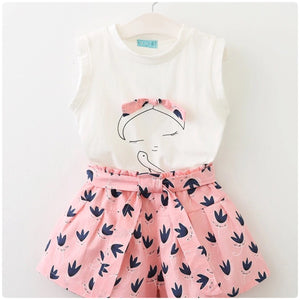 Pretty in pink shorts set