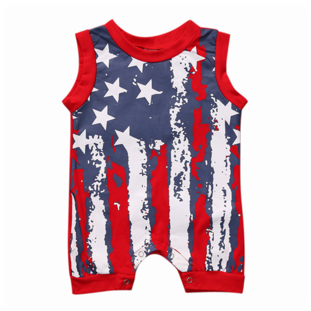 Patriot Romper