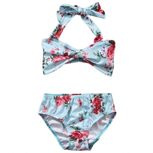 Rosy two piece bathingsuit