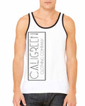 Caligreen Unisex Tank Top Black/White