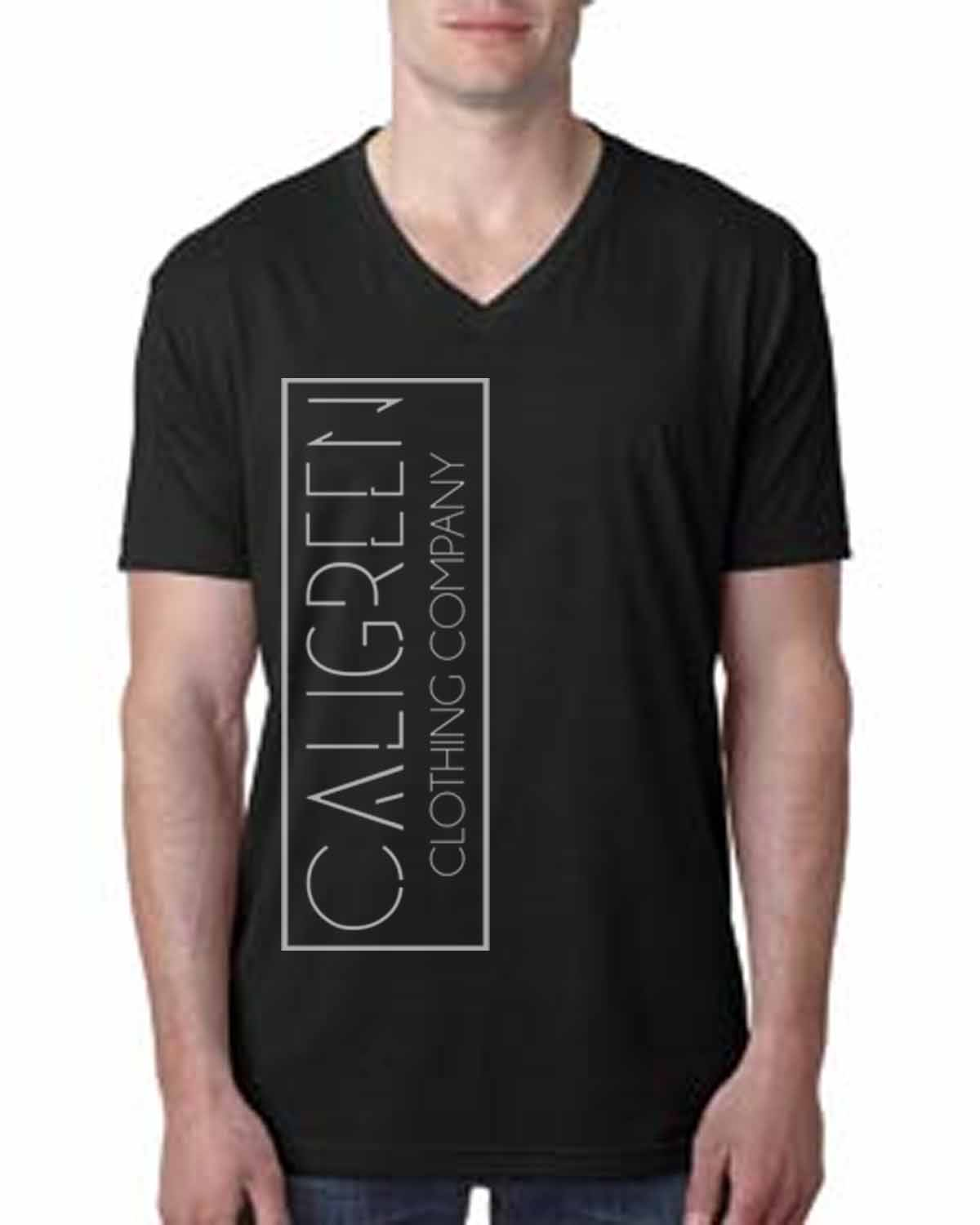 Caligreen Classic V-Neck Black