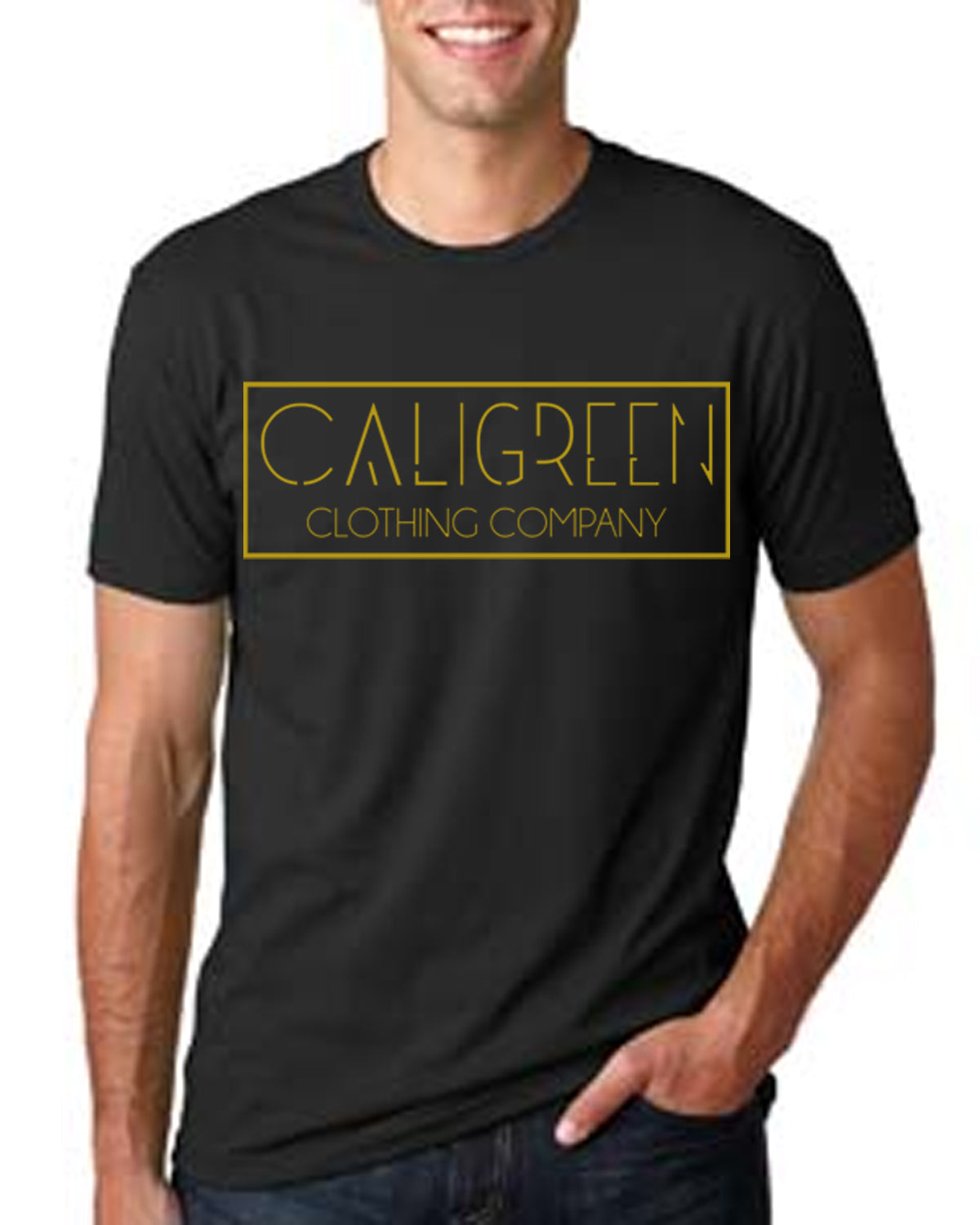 Caligreen Classic Black/Gold T-Shirt
