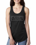 Caligreen Classic Racer Back Tank Top