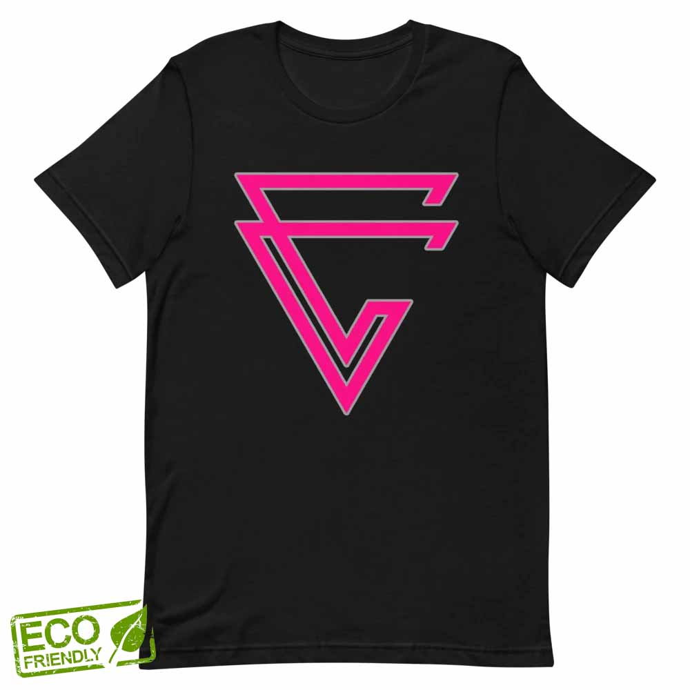 Arrow Fuchsia Hemp Tee