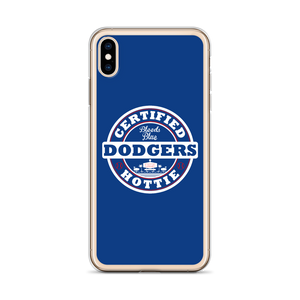 Certified Dodgers Hottie iPhone Case