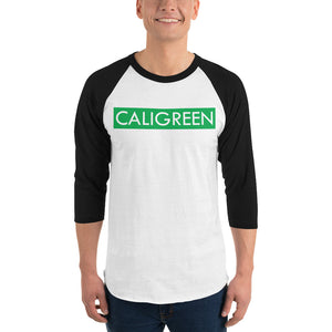 CaliGreen Block Party Baseball Tee
