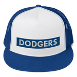 Dodgers Block City Trucker Cap