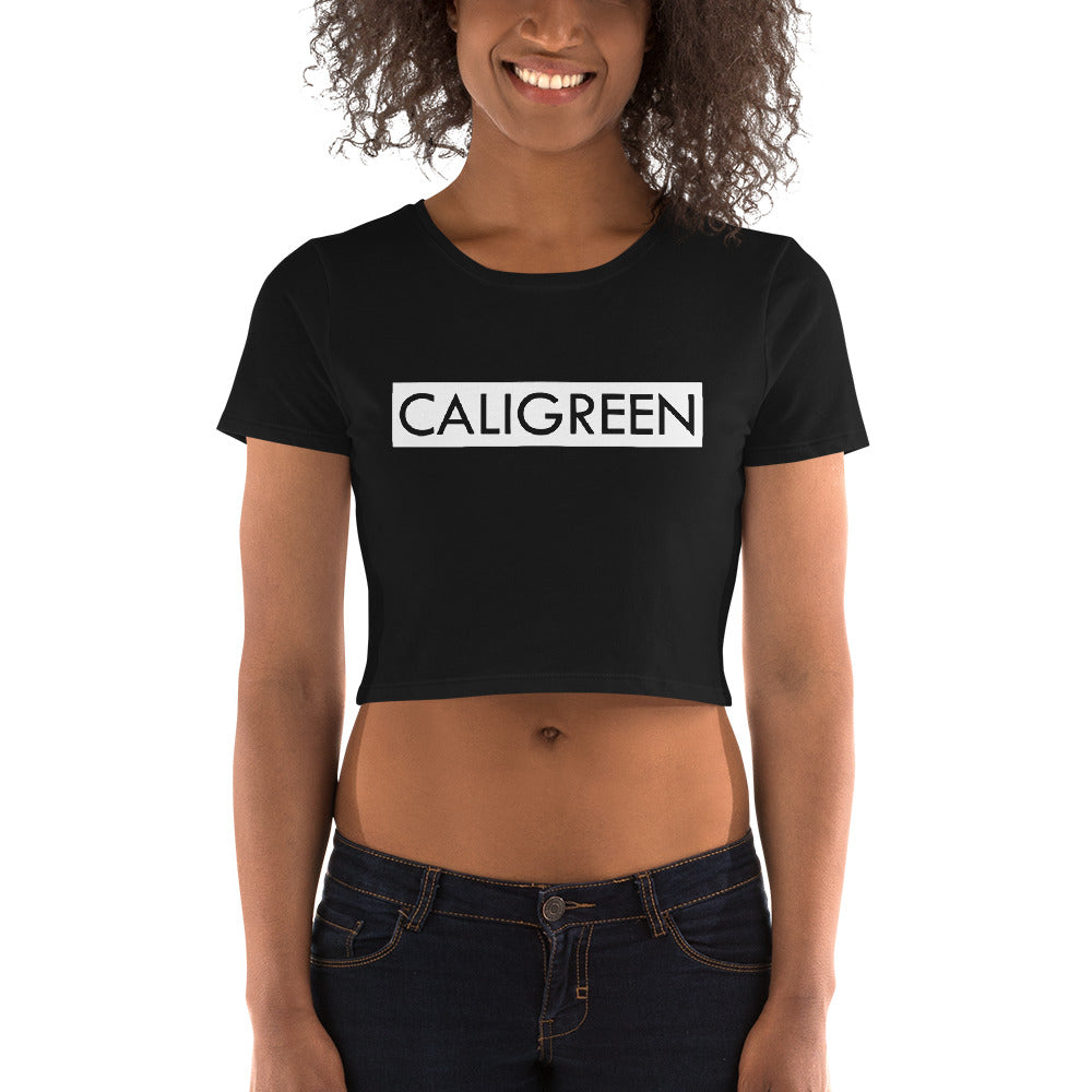 CaliGreen Block Party Women's Crop Tee