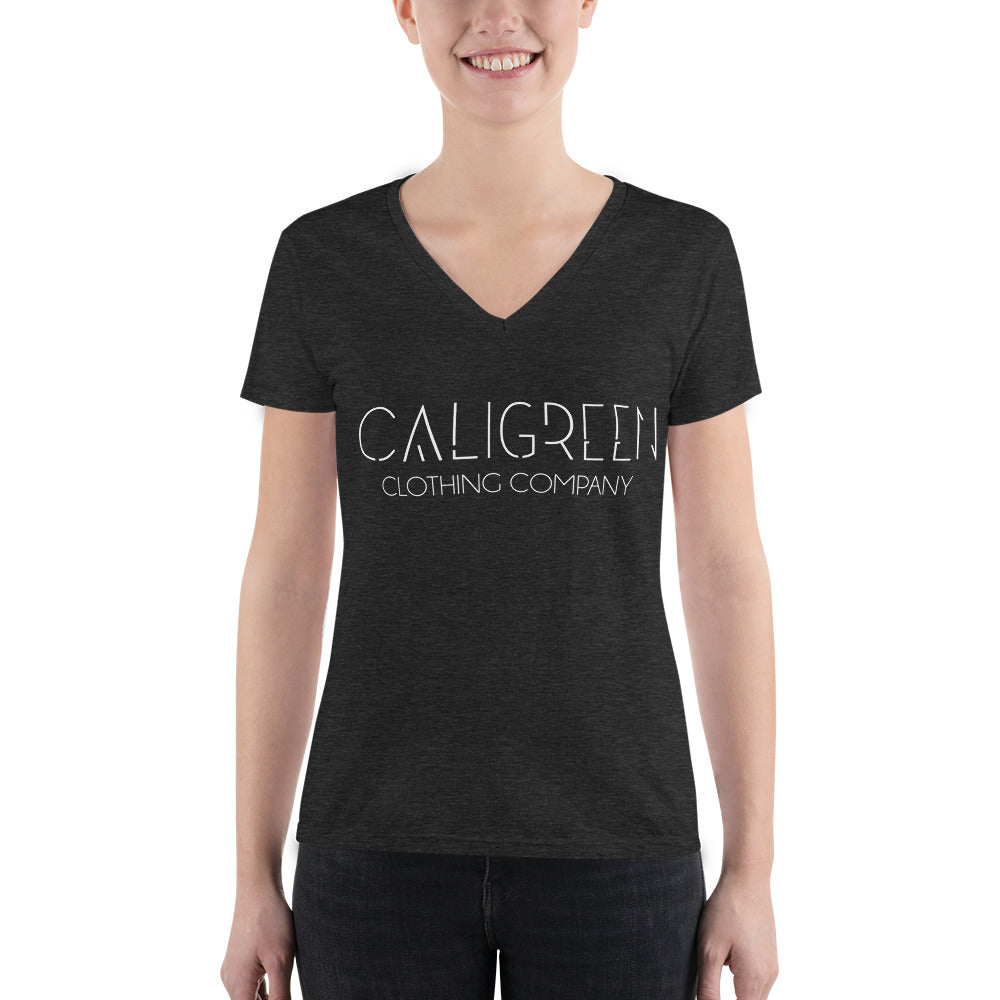 CaliGreen Clothing Co Deep V-neck
