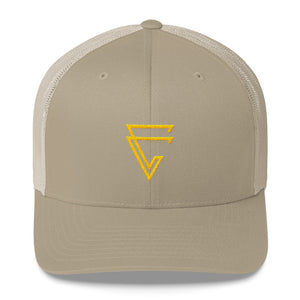 CaliGreen Arrow Trucker Cap
