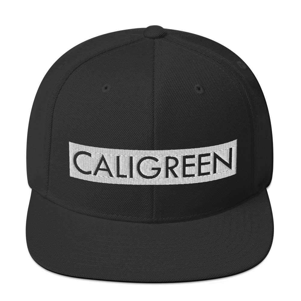 CaliGreen Block Party Snapback Hat