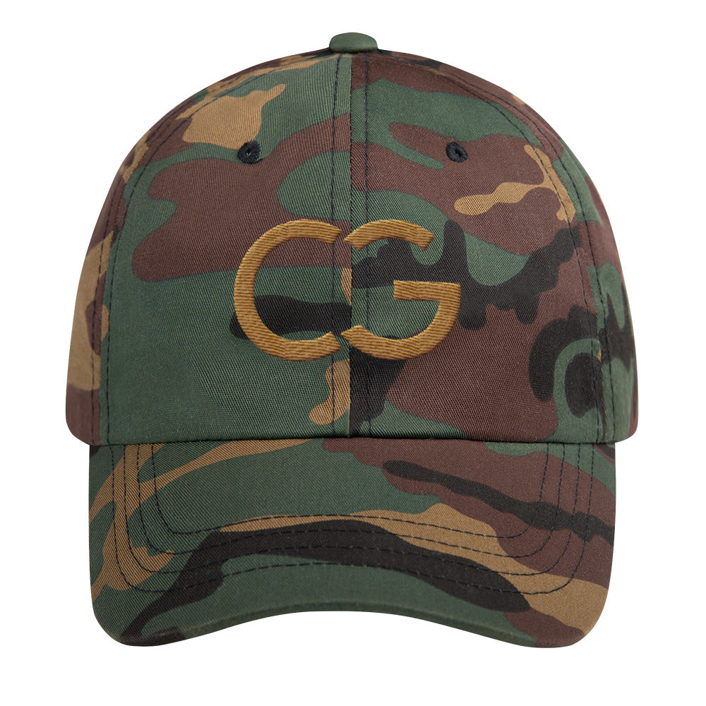 CaliGreen CG Camo Dad hat